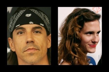 Anthony Kiedis Dating History