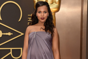 Pregnant Kerry Washington Glows at the Oscars