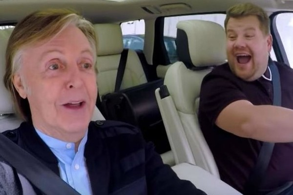 If You're Looking For A Reason To Smile Today, Paul McCartney's Carpool Karaoke Might Do The Trick