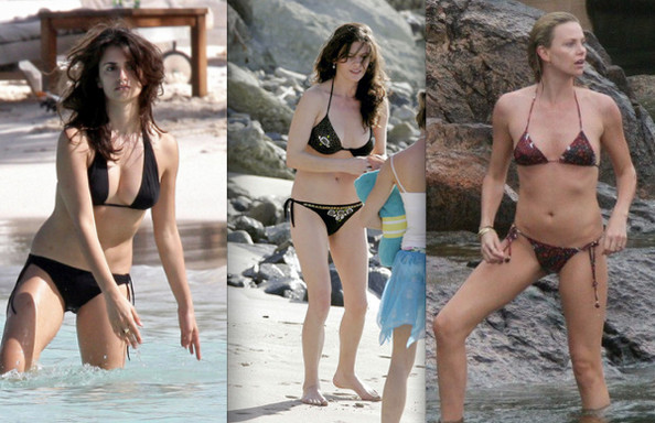 Celebrity Bikini Battle - Oscar Winners