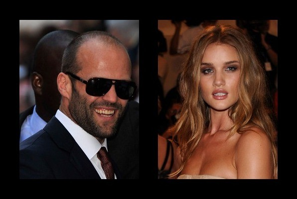 Jason Statham is dating Rosie Huntington-Whiteley