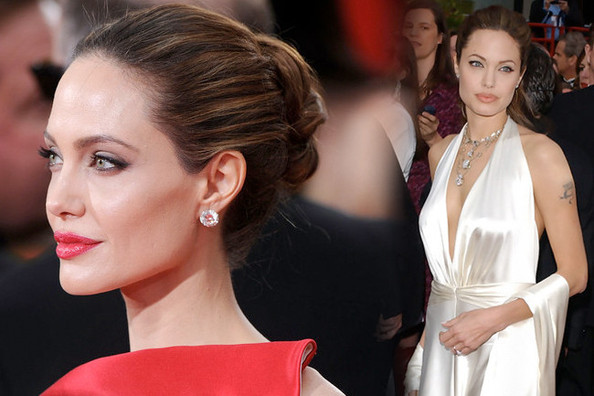 Fashion Flashback - Angelina Jolie Then & Now