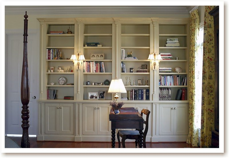 Example of a built in bookcase bookcases zimbio