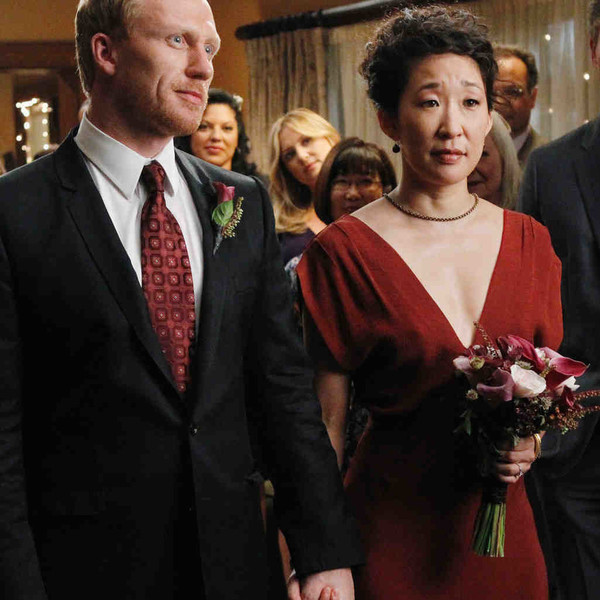 Cristina Yang in \'Grey\'s Anatomy\' - TV Wedding Dresses, Ranked From ...