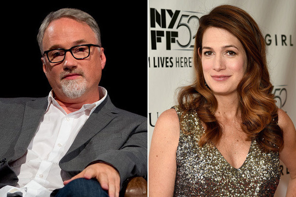 Director David Fincher and author Gillian Flynn collaborated on adapting Flynn's book.