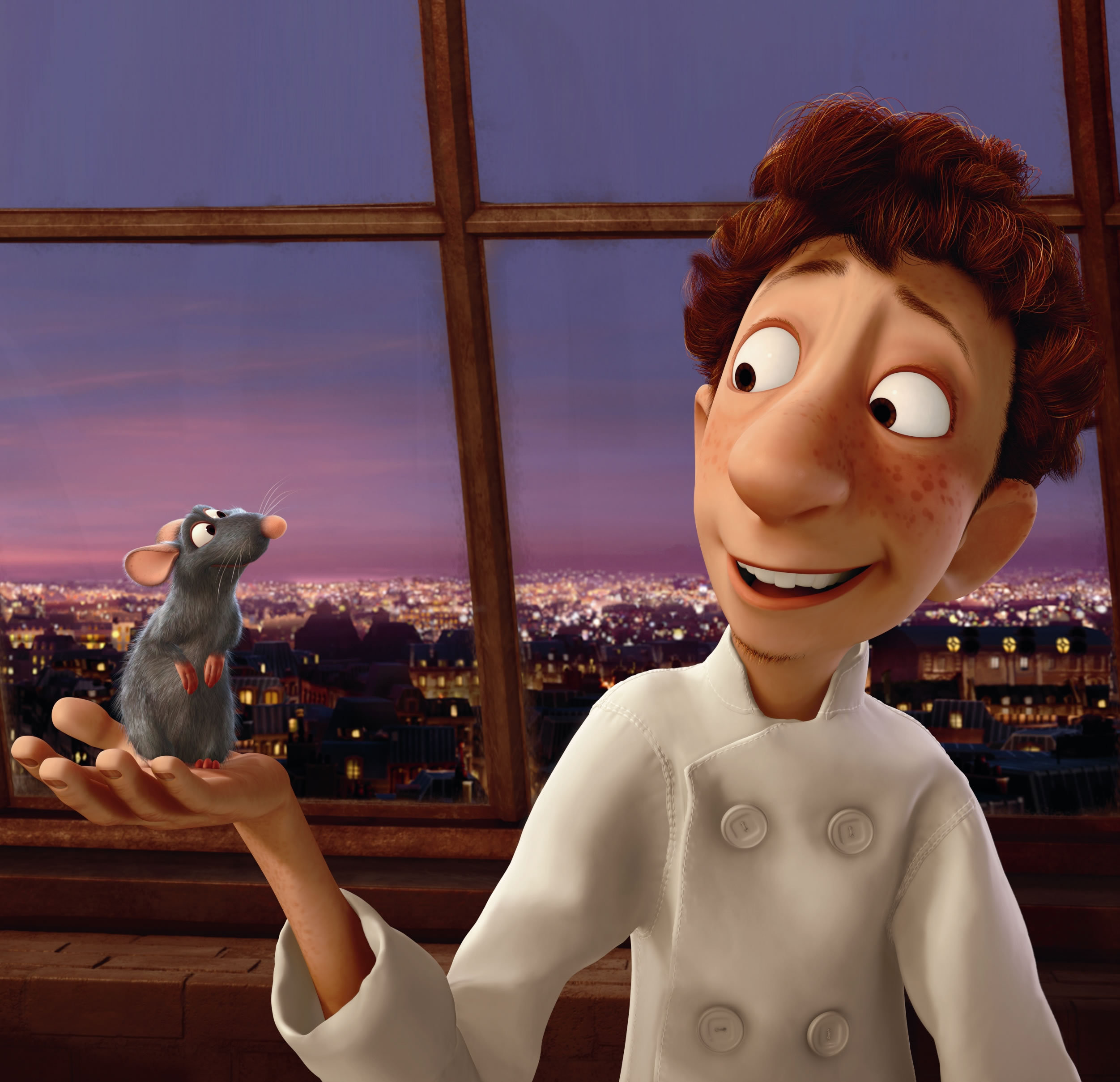 Linguini And Remy The Greatest Human And Animal Friendships In Movies Zimbio