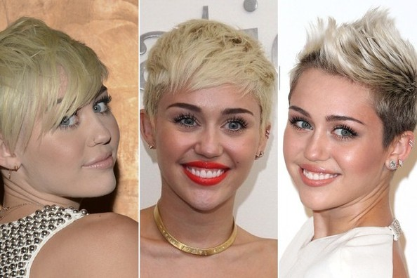 1 Cut, 5 Different Looks: Miley Cyrus's Pixie Styling Inspiration