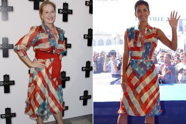 TBT: Catherine Malandrino's American Flag Dress