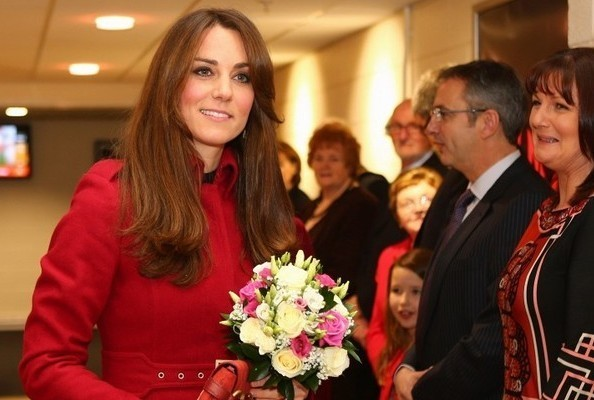 Kate Middleton Wears L.K. Bennett at a Rugby Match