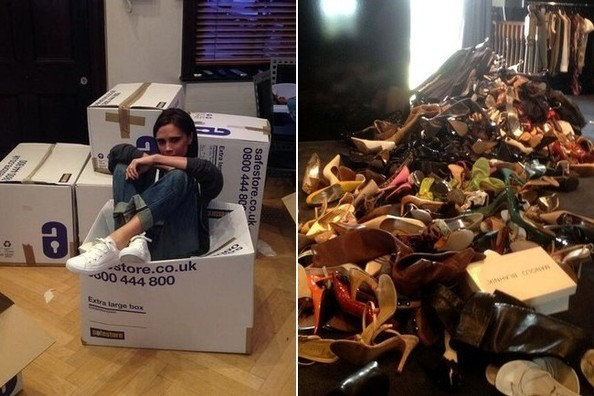 Just How Many Pairs of Shoes Does Victoria Beckham Own?!