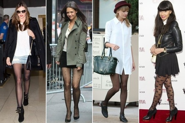Now Trending: Sheer Tights