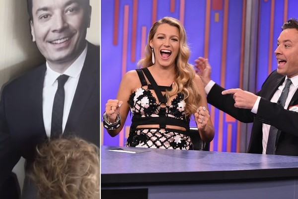 Blake Lively Shares Precious Video of Daughter James on 'Fallon'