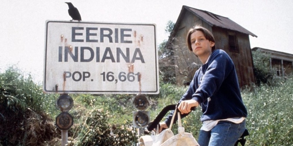 Omri Katz in Eerie, Indiana. Image from YouTube.