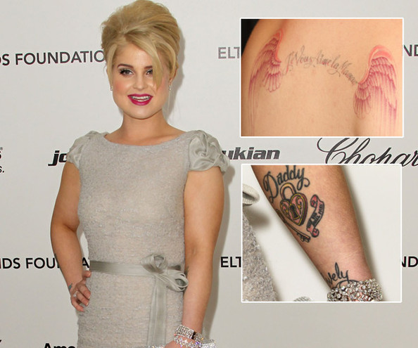 Kelly Osbourne - The Hottest Celebrity Tattoos - Zimbio