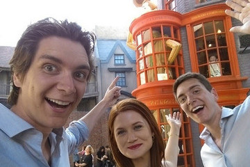Famous Muggles at the Wizarding World of Harry Potter