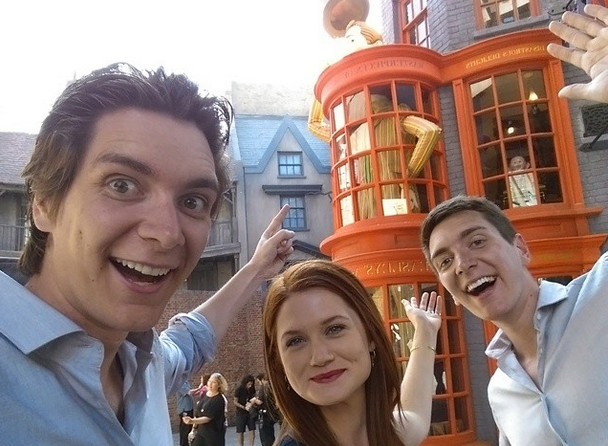 Famous Muggles At The Wizarding World Of Harry Potter Zimbio