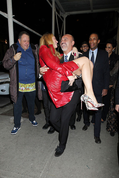 Christian Louboutin Knows His Heels Are Crazy High