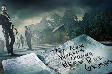 Morgan Finally Catches Up to the Group in New 'Walking Dead' Key Art