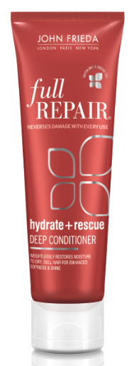 Must-Add to Your Hair Toolbox: John Frieda's Hydrate + Rescue Deep Conditioner
