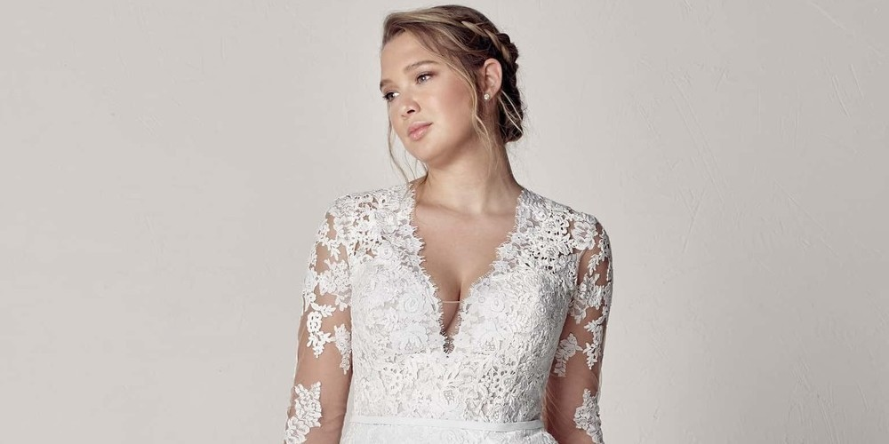 Best Designer Plus Size Wedding Dresses For 2019 Things We