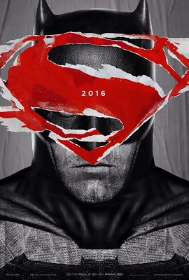 The First 'Batman v Superman' Posters Look Very Angry