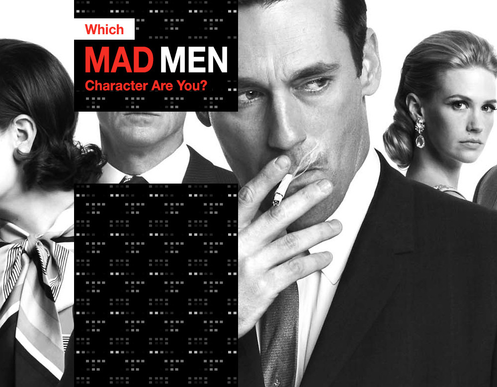 Which Mad Men Character Are You Quiz Zimbio