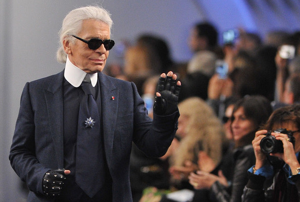 Karl Lagerfeld's Launching a Watch Line with Fossil