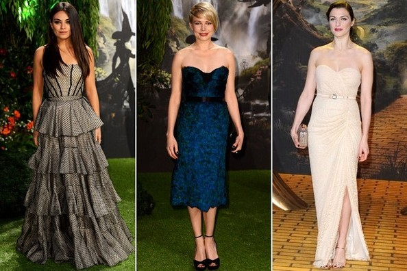 Who Was Best Dressed at the 'Oz: The Great and Powerful' London Premiere? Vote Here!