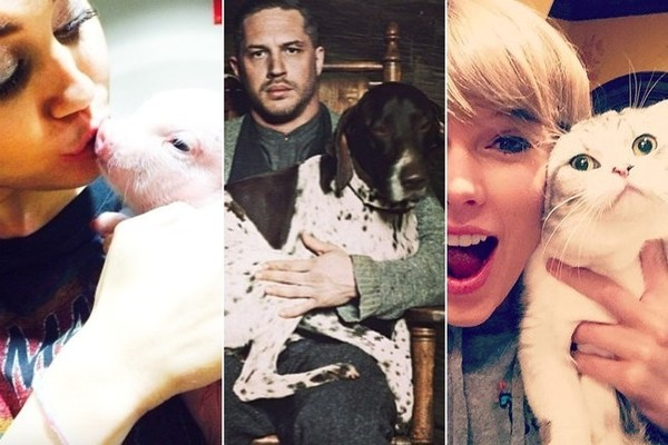 Celebrities Who Are Obsessed With Their Pets