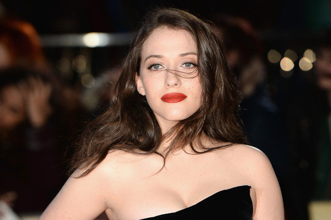 Kat Dennings Brings on the Drama in Black Velvet