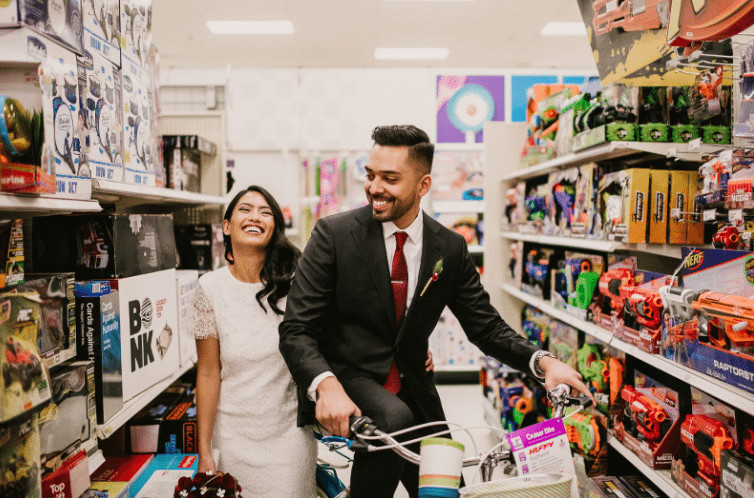 This Couple Took Their Wedding Photos At Target
