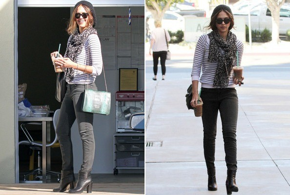 Why it Works: Jessica Alba's LA Earth Mom Look