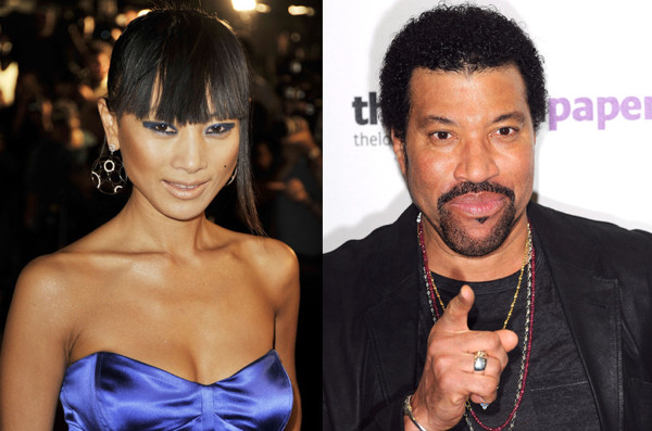 Former boyfriend and girlfriend: Lionel Richie and Bai Ling