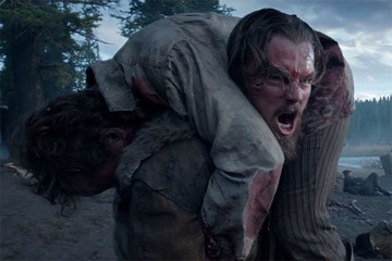 Leo Looks Gnarly in the First 'Revenant' Teaser