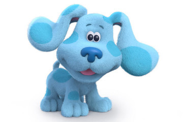 'Blue's Clues' Is Getting A Reboot And You Have To See Blue's Crazy Glow-Up