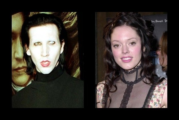 rose mcgowan and marilyn manson relationship