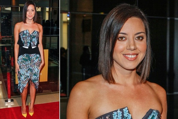 Aubrey Plaza's Artistic Red Carpet Style