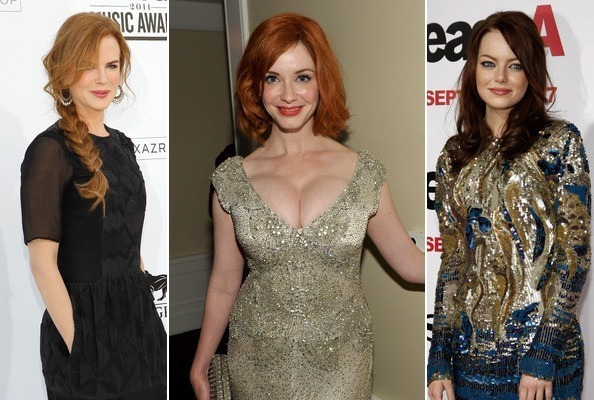 Hollywood's Hottest Redheads