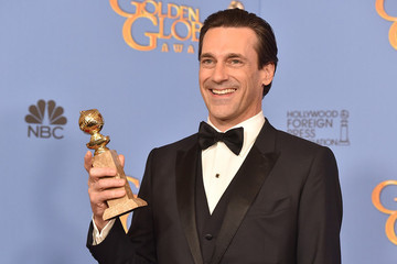 Seriously! Jon Hamm's Name Is Misspelled on His Golden Globe