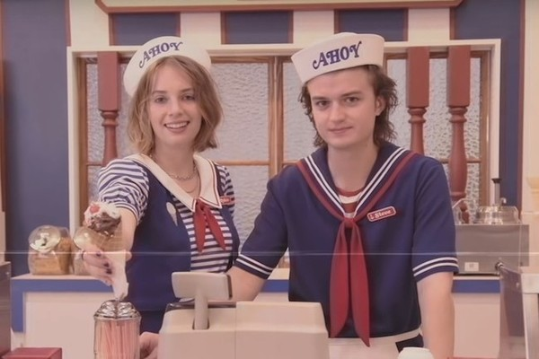 According To The Latest 'Stanger Things' Promo Video, Everyone's Favorite Mom Is Now Working At The Starcourt Mall