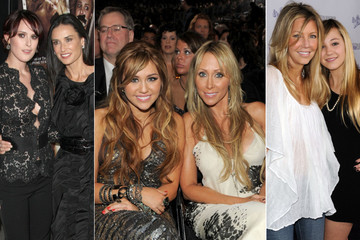 Beautiful Celebrity Moms and Daughters