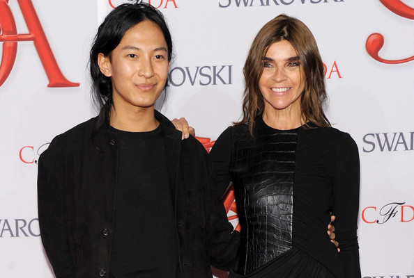 Rumor Alert: Is Carine Roitfeld Joining Alexander Wang at Balenciaga?