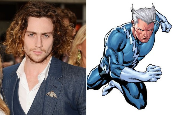 Aaron Taylor Johnson or Evan Peters as Quicksliver: Who ...