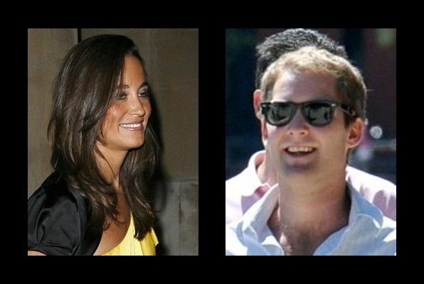 Pippa Middleton was rumored to be with George Percy