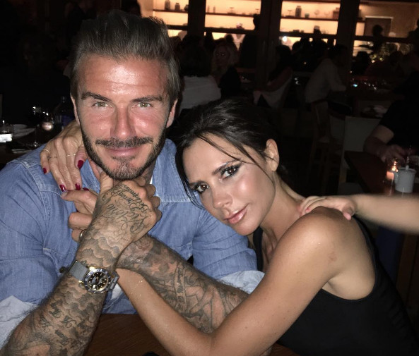 David Beckham Writes Sweet Tribute to Wife Victoria for Their 17th Wedding Anniversary