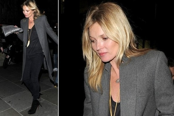 Kate Moss's London Style