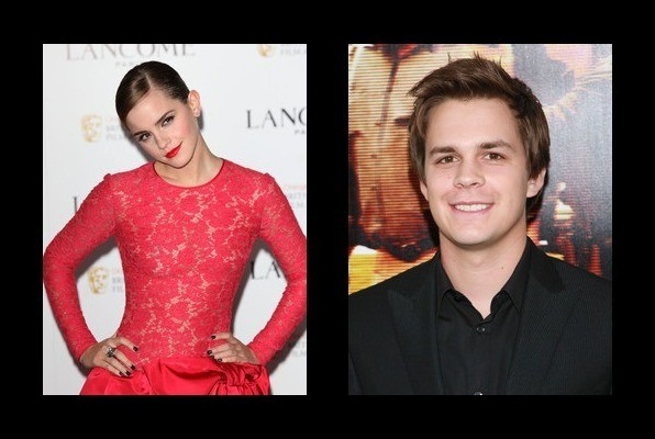 Emma Watson dated Johnny Simmons