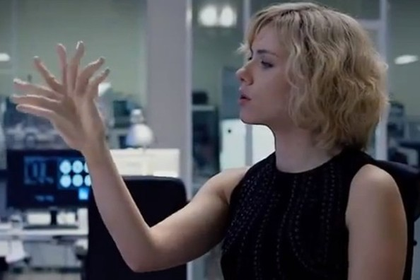 13 key screen grabs from the first trailer for lucy trailer