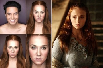 This Incredible Makeup Artist Transforms Himself Into 'Game of Thrones' Characters