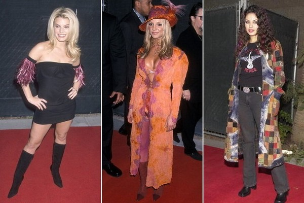 The Ridiculous Red Carpet Fashion at the 2000 Billboard Music Awards